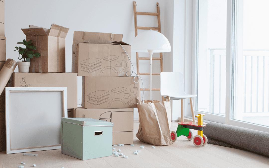 Hvorfor du bør male før du flytter