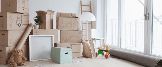 5 ting du bør kaste når du flytter